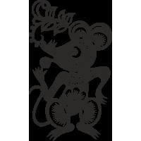 Знак китайского зодиака Крыса/мышь