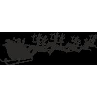 Дед мороз и его олени