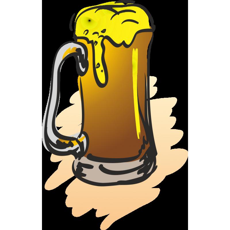 Прикольные рисунки с пивом