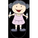 Девушка со скакалкой