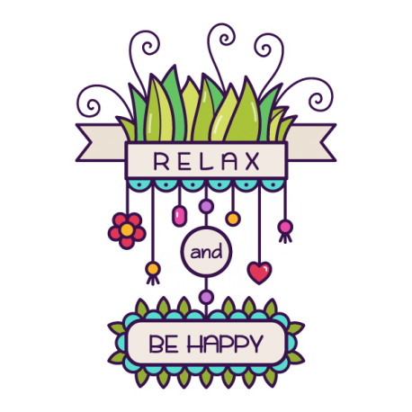 Relax and be happy