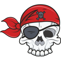 Череп пирата