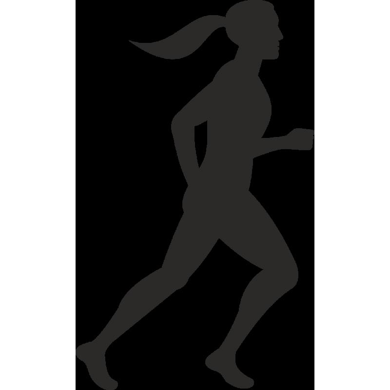 Черно-белые картинки человек бежит