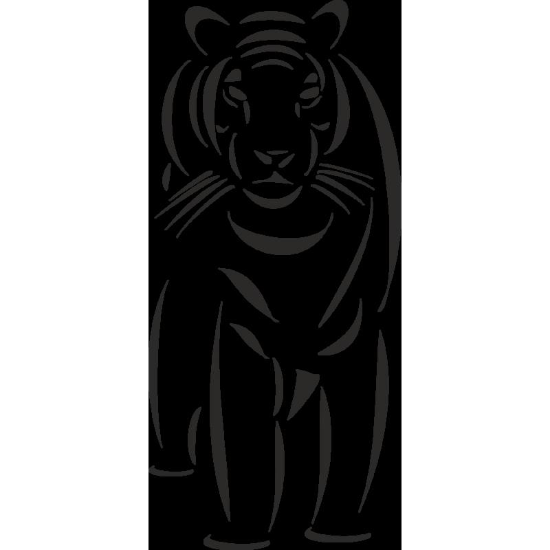 Картинки из символов тигры