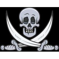 Череп с двумя мечами