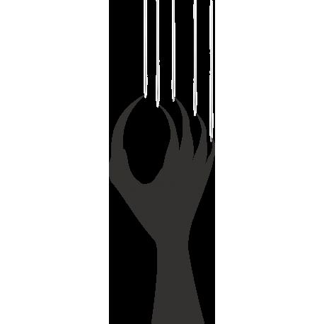 Рука с когтями