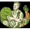 Продавец овощей