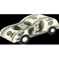 Автомобиль из доллара