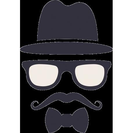 Мужчина с усами и в шляпе