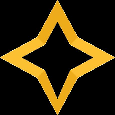 Четырехконечная звезда