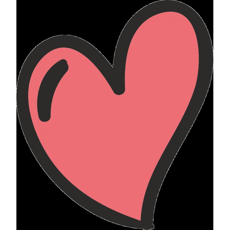 Картинка сердце с ушами