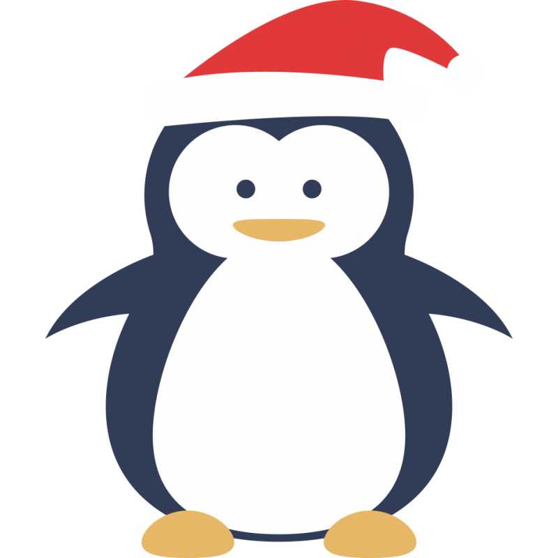 Картинка пингвин для детей цветная