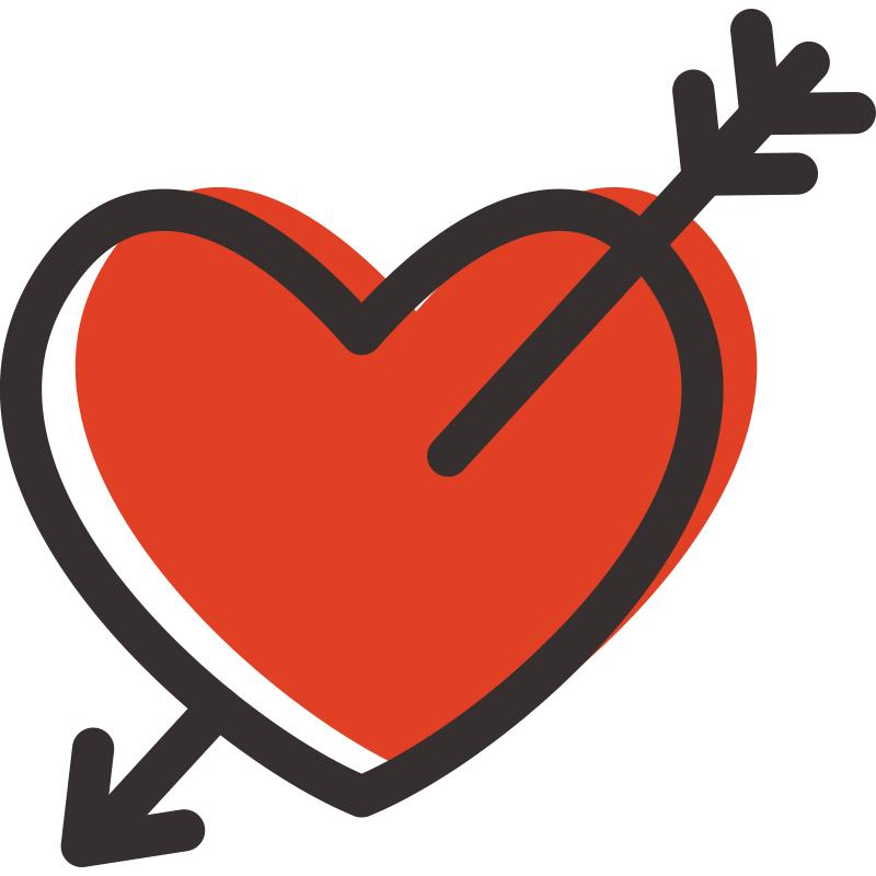 Картинки сердце с стрелой