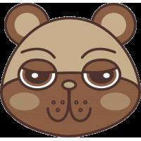 Голова медвежонка