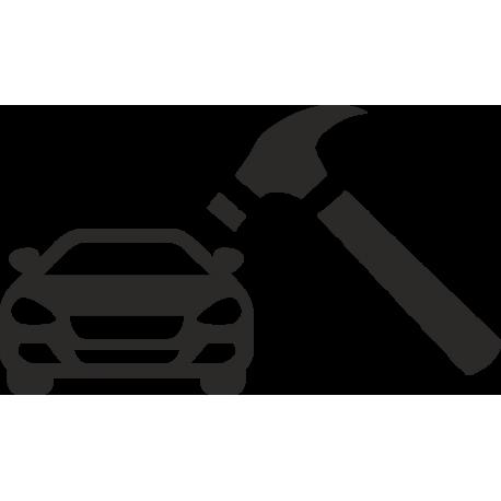 Машина и молоток