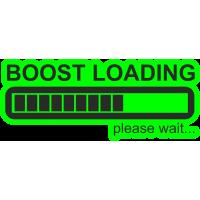 Boost loading - Повышение нагрузки