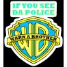 Логотип Warner Bros с надписью
