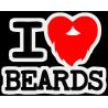 I love beards - Я люблю бороды
