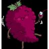 Ягода пьющая вино