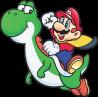 Марио на драконе