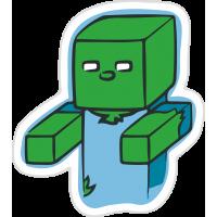 Человек с кубиков