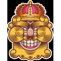 Злой усатый король