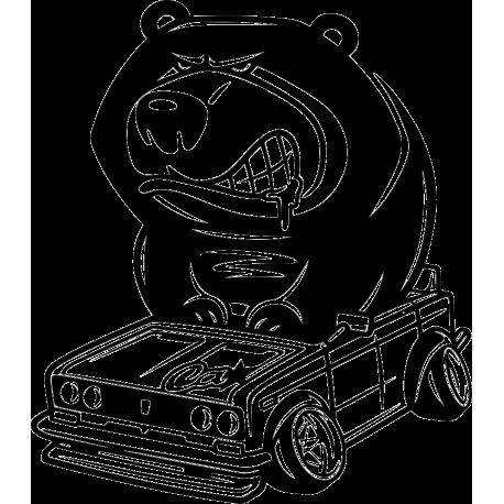Медведь на ладе