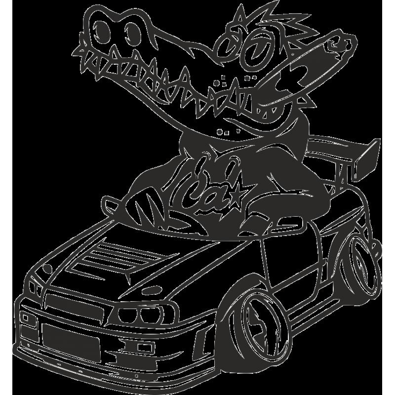 Прикольные рисунки на авто, картинки волках надписями