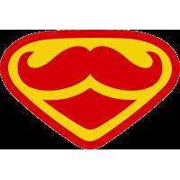 Усы в стиле супермена
