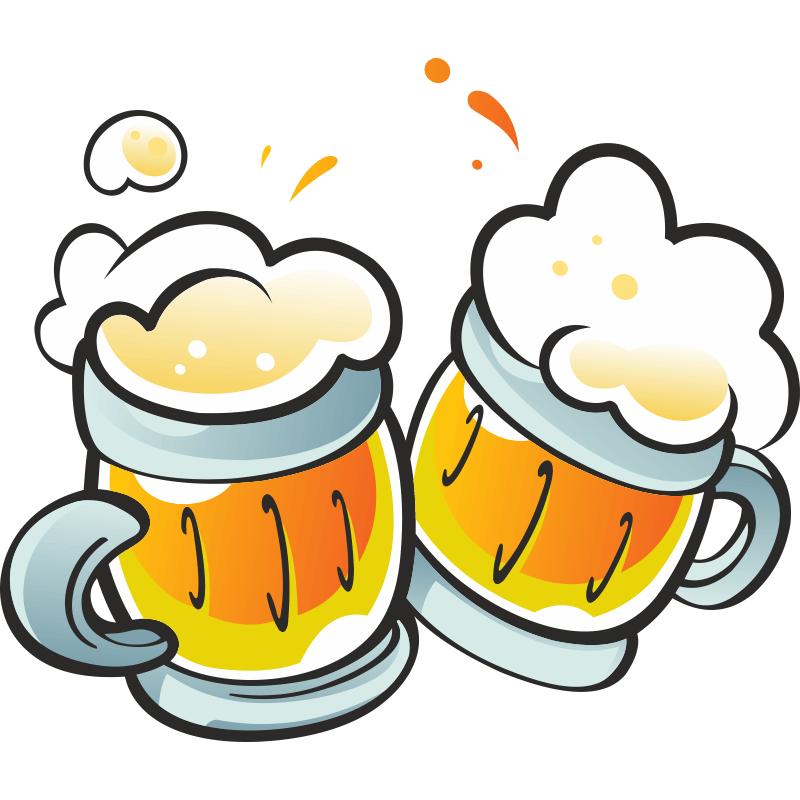 Смешные рисунки с пивом, поздравления сына
