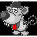 Мышь в цилиндре