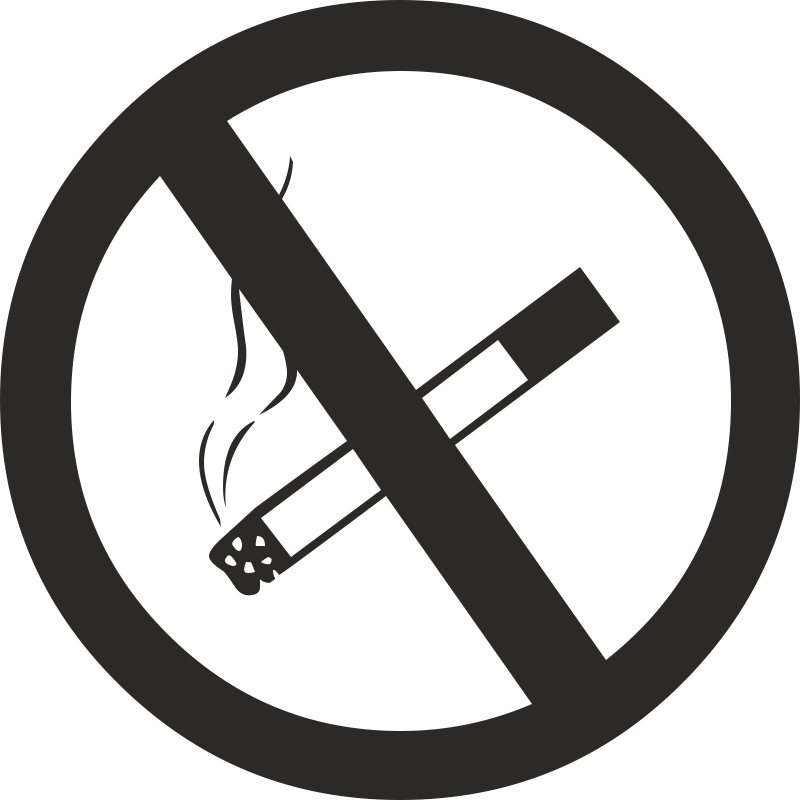 Картинка знака запрещающего курение