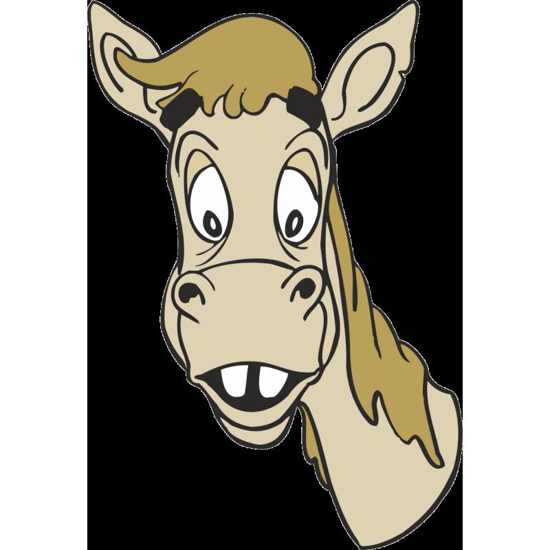Конь рисунки смешные