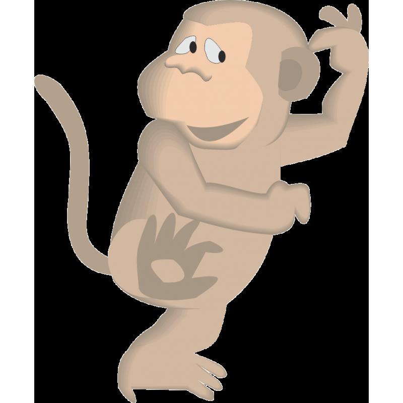 улыбкой двигающаяся обезьяна картинки одних