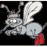 Комар в красных сапогах