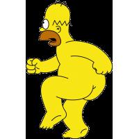 """Гомер из мультфильма """"Симпсоны"""""""