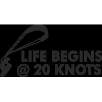 Кайтер -Жизнь начинается с 20 узлов - Life begins @ 20 knots