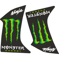 Ninja Monster Energy