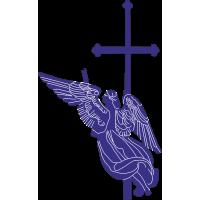 Ангел на Петропавловском соборе в Санкт-Петербурге