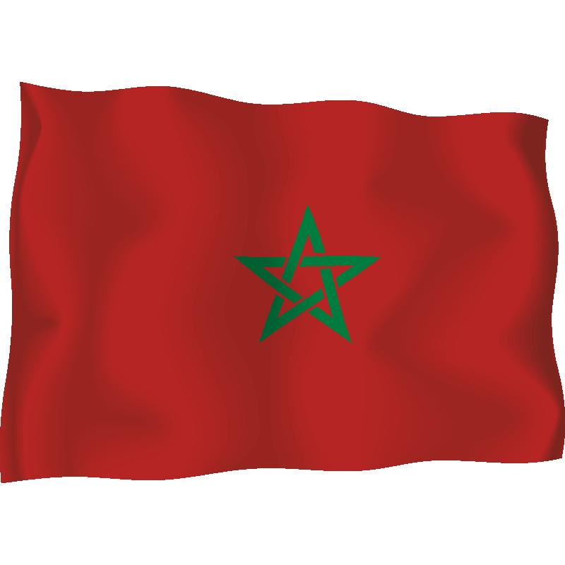 картинки марокко флаг лёгкой