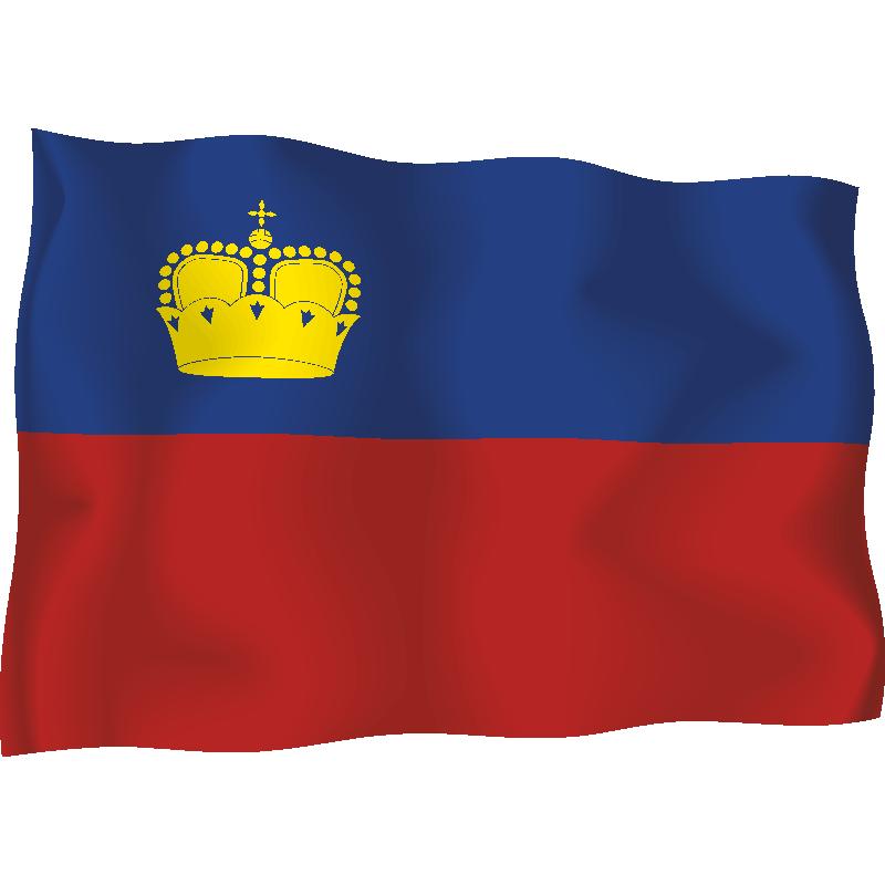 Лихтенштейн флаг фото