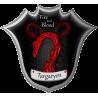 Флаг дома Таргариенов из сериала Игра престолов (Game of Thrones)