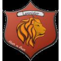 Флаг дома Ланнистеров из сериала Игра престолов (Game of Thrones)