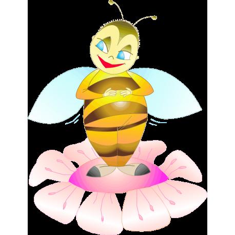 Мультяшная пчела