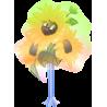 Мультяшный букет цветов