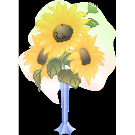 Мультяшный цветок