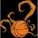 Баскетбольный мяч с щупальцами
