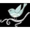 Птица с червяком