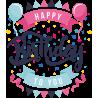 Happy Bithday to you - C днем рождения тебя