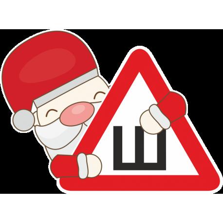 Знак Ш - Шипы в руках у Деда Мороза